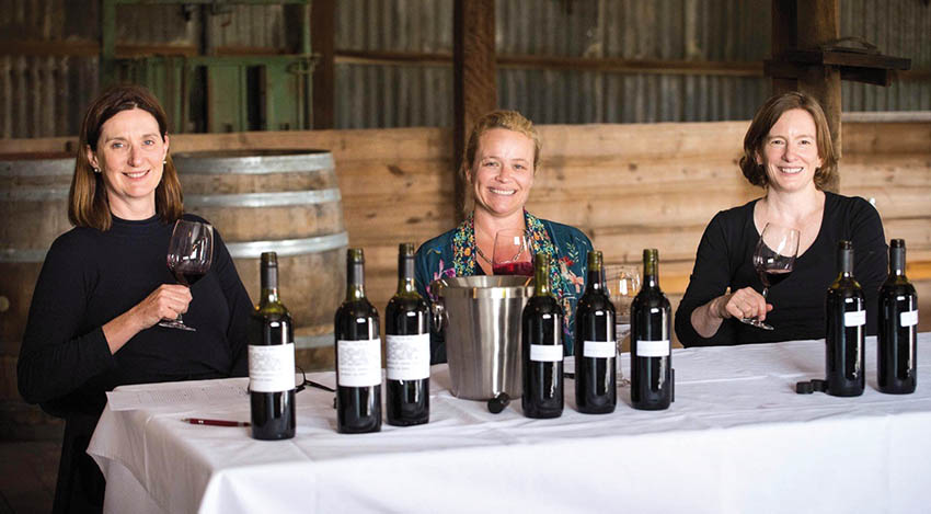 women in the Australian wine industry